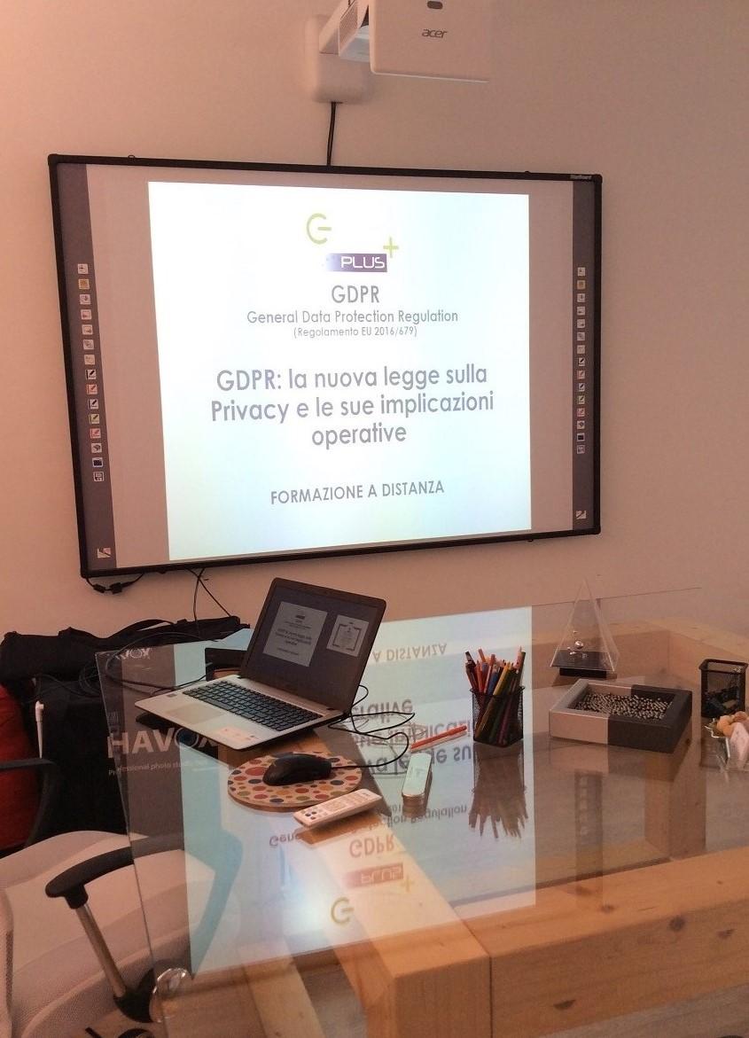 corsi online gdpr durante lockdown coronavirus