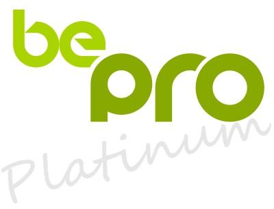 logo be pro platinum